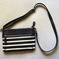 Black & White Crossbody Bag Black & White Crossbody Bag. Bags Crossbody Bags