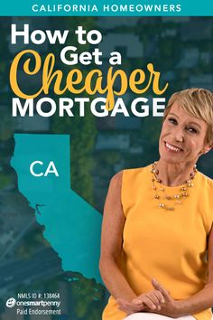 """Shark Tank"" star's guide on how Californians can pay off their mortgage faster by taking advantage of today's low interest rates! Refinance your mortgage and you could pay it off in half the time."