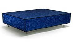 BLUE FEATHER TABLE