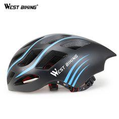 WEST BIKING Ultralight Cycling Helmet 54-60CM Bicycle Helmet Integrally-molded Road Bikes Helmet Capacete Casco Ciclismo Helmets #Affiliate