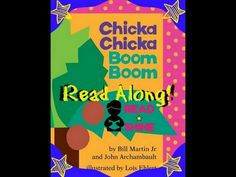 ✭CHICKA CHICKA BOOM BOOM ✭ Story Book Read Along Children's Learn To Rea...