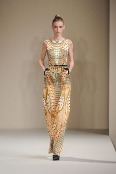 Temperley London Fall 2013 Runway Look 34 in   Lyst- I LOVE THIS
