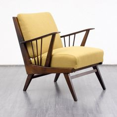 armchairs / easy chairs 1950s easy chair, reupholstered, dispo 2 Karlsruhe Velvet-Point