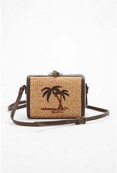Crossbody Straw Purse. $12.99
