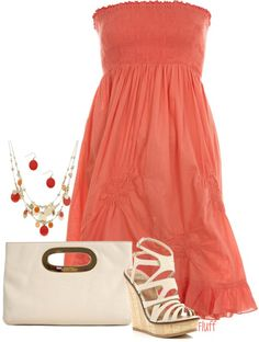 """summer party"" by fluffof5 on Polyvore"
