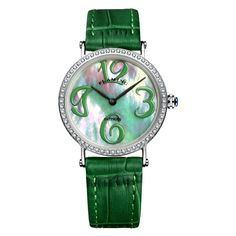 70.00$  Buy now - http://alikm0.worldwells.pw/go.php?t=32693927821 - FLAMING GAGA Series High Quality 2 Models Miyota Quartz Watches Women Wristwatches Dress Watch with Shell Dial and Crystal Gifts