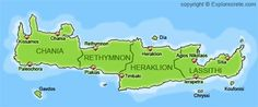 In this page you will find various maps of Crete. You will also find detailed maps of the main towns and cities in Crete: Heraklion, Chania, Rethymnon, Agios Nikolaos and Sitia. Some of the maps are very big files, so they will take a long time to download with a simple modem connection.