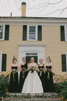 Fall hues: http://www.stylemepretty.com/new-hampshire-weddings/2015/04/01/romantic-fall-wedding-at-the-bedford-village-inn/ | Photography: Emily Delamater - http://emilydelamater.com/