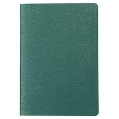 Libreta pasaporte de hojas cuadriculadas