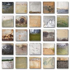 Robin Luciano Beaty The Grass is Always Greener Encaustic, m/m and found objects