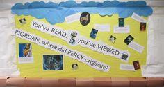 Percy Jackson books and Greek Mythology
