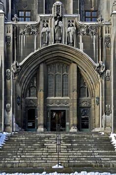 Detroit Masonic Temple | Masonic Temple, downtown Detroit, Michigan. Beautiful building with a ...