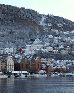 Fløien, Bergen, Norway, by Tore Landsvik #Norway ☮k☮ #Norge