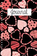 TONS OF HEARTS JOURNAL by Milena Martinez