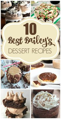 10 Best Bailey's Dessert Recipes | Pretty My Party