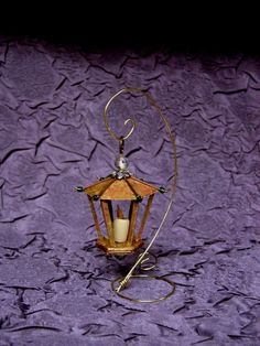 Miniature Lantern Tutorial