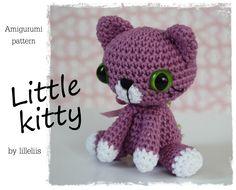 Etsy: Little Kitty (Pattern - R$10,79)*