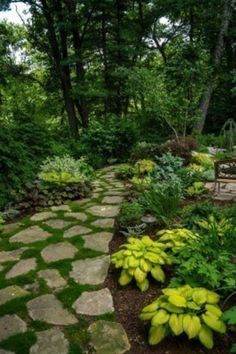 Garden Stone Pathway Ideas-01-1 Kindesign