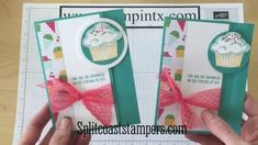 card making video tutorial: Latch Card Tutorial using Stampin' Up! Sprinkles of Life ...