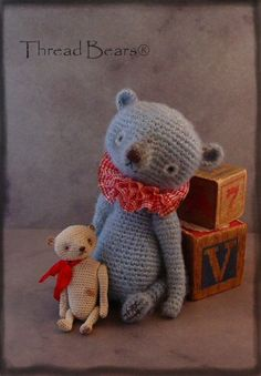 thread bears   This is the newest addition to our Thread Teds by Thread Bears® line!