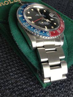 "[Baisse de prix 3][Vends] 1983/84 Rolex GMT Master ref 16750 ""No Date dial"""