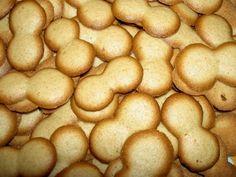 Línguas de gato | Portuguese cinnamon and lemon cookies