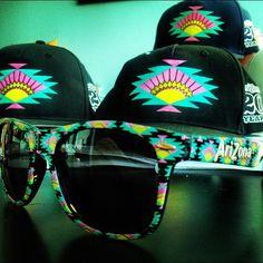 Glasses, hats, Arizona tea <3