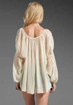 peasant blouses   Tops Blouses Haute Hippie Tops