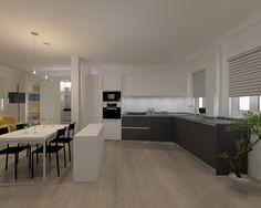 Proyecto en Madrid   Cocina Santos   Modelo Line E  Encimera Silestone