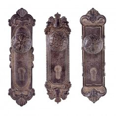 Antique Finish Ornamental Door Knob Design Hook - Three Designs Available #home #décor #vintage #coathook