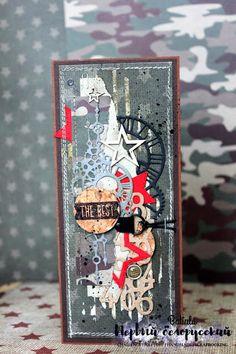 """Первый белорусский челлендж-блог: """"Фея рукоделия"""" в гостях у Первого белорусского. Мужские открытки. Презентация новой коллекции."""