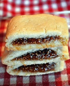 homemade fig cookie---I never buy them because they are too expensive ...