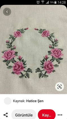 Hand Embroidery Design Patterns, Cross Stitch Designs, Cross Stitch Embroidery, Pattern Design, Stitch Patterns, Herb, Cross Stitch Patterns, Groomsmen, Roses