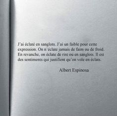 Franch Quotes : Espinosa citation - The Love Quotes The Words, Cool Words, Some Quotes, Words Quotes, Sayings, Pretty Words, Beautiful Words, French Quotes, Sweet Words