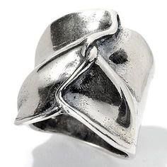 129-346 - Passage to Israel Sterling Silver Twisted Ribbon Ring