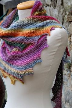 Our Fall order of Mille Colori Baby arrived recently and I immediately stashed a few balls to knit up Drachenschwanz by Solwey Hauptmann - a fun and easy shawl pattern that lends itself so well to ...