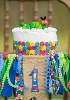 Get inspiration for your little one's first birthday party from their favorite book. This Very Hungry Caterpillar birthday party—including party décor, themed snacks, and dessert ideas—is a simple, unique, and fun way to celebrate your growing baby!