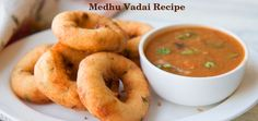Medhu Vadai (Ulundu Vadai) Recipe with step by step.Crispy Medhu Vadai Recipe is a most famous south Indian snack.For More information Visit https://www.hungryforever.com/medhu-vadai-recipe/
