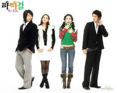 My Girl (Korean Drama, 2006).  Lee Dong Wook and Lee Da Hae.  Loved it too!