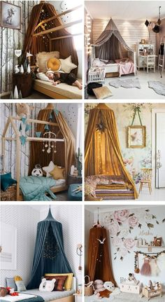 Sweet Round Mantle Cotton Tent Canopy - 19 colors - this with blackout curtain . - Sweet Round Mantle Cotton Tent Canopy – 19 colors – this with blackout curtains? Baby Bedroom, Baby Room Decor, Room Decor Bedroom, Girls Bedroom, Childs Bedroom, Ikea Bedroom, Tent Bedroom, Bedroom Furniture, Baby Girl Bedding