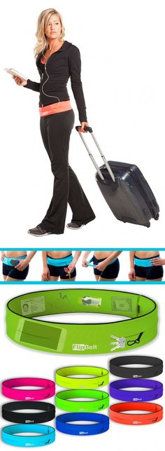 Traveling, working out, shopping.... anytime, anywhere you need your hands free but your vitals with you - FlipBelt.
