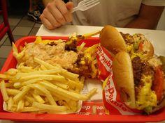 In-N-Out Burger  #hamburger #fries