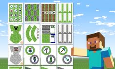free-minecraft-party-printables