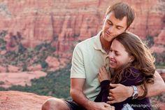 Best Sedona Engagement Photo Erin Evangeline Photography- Schnebly Hill Road