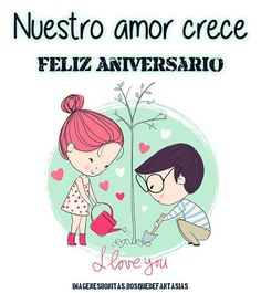 Imagenes De Amor Bonitas Feliz Aniversario Mi Amor Amor Love