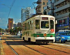Kumamoto Tram by Furuhashi on DeviantArt