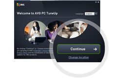 AVG PC Tuneup Installation Step Two Continue
