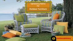 Popular Upholstery Fabrics For Outdoor Furniture