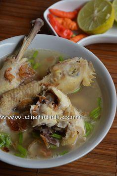 Diah Didi's Kitchen: Inspirasi menu Buka Puasa Hari ke 8 ( Sup Ayam Pecok dari Klaten )