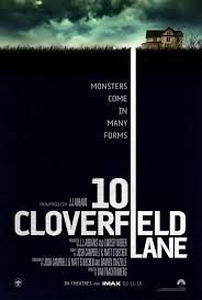 """10 Cloverfield Lane talked about Waking up from a car accident, a young woman finds herself in the basement of a man who says he's saved her life from a chemical attack that has left the outside uninhabitable.. This movie was released on 3/11/2016 with genre Drama, Mystery, Sci-Fi. 10 Cloverfield Lane was written by Josh Campbell (story), Matthew Stuecken (story), Josh Campbell (screenplay), Matthew Stuecken (screenplay), Damien Chazelle (scree"